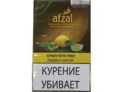 Кальянный табак Afzal Lemon With Mint 40 gr