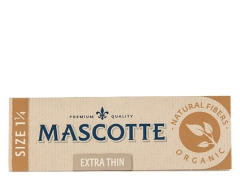 Бумага для самокруток Mascotte Extra Thin Organic Size 1 1/4