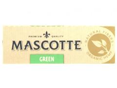 Бумага для самокруток Mascotte Green Organic