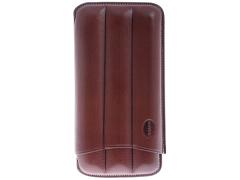 Чехол Jemar на 3 сигары, натуральная кожа 110-3-XL-Brown