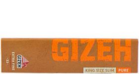 Бумага для самокруток Gizeh Pure King Size Slim 33