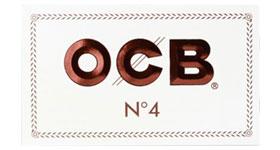 Бумага для самокруток OCB Double White №4