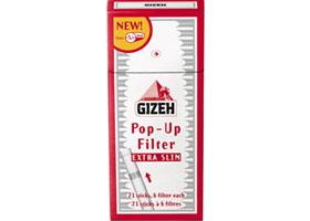 Фильтры для самокруток Gizeh Extra-Slim 5,3 мм