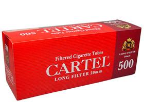 Гильзы для самокруток Cartel Longfilters 500 шт