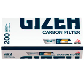 Гильзы для самокруток Gizeh Carbon Filter 200 шт