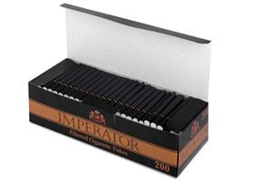 Гильзы для самокруток Imperator Black 200 шт