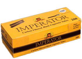 Гильзы для самокруток Imperator Black Carbon 200 шт