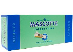 Гильзы для самокруток Mascotte Carbon 200 шт