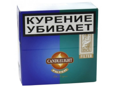 Сигариллы Candlelight Filter Assorty Sumatra+Menthol 25+25 (шт.)