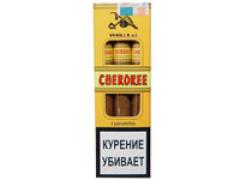 Сигариллы Cherokee Wood Tip Vanilla №3 3 шт.