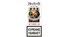 Сигариллы Havanas Wooden Tips Cherry 4 шт.