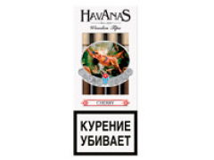 Сигариллы Havanas Wooden Tips Cherry 4 шт.