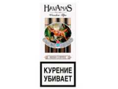 Сигариллы Havanas Wooden Tips Irish Coffee 4 шт.