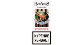 Сигариллы Havanas Wooden Tips Strawberry 4 шт.
