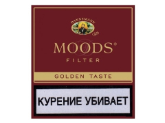Сигариллы Moods Filter Golden 10