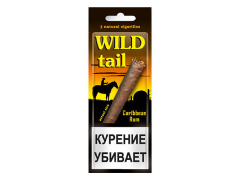 Сигариллы Wild Tail Carribean Rum 3 шт.