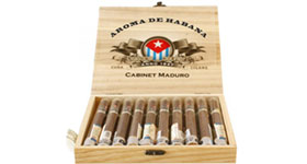 Сигары Aroma De Habana Cabinet Maduro Кабинет 10 шт.