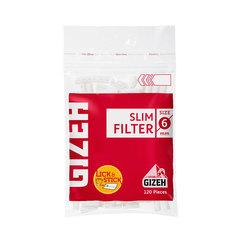 Фильтры для самокруток Gizeh Slim 6 мм