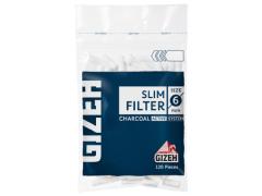 Фильтры для самокруток Gizeh Carbon Slim