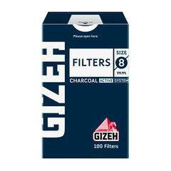 Фильтры для самокруток Gizeh Standard Угольные 8 мм