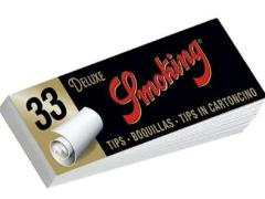 Фильтры для самокруток Smoking King Size Tips 33