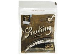 Фильтры для самокруток Smoking Slim Brown