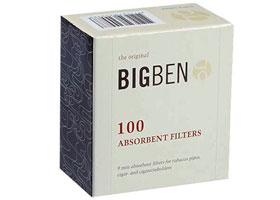 Фильтры для трубок Big-Ben 9мм 100 шт