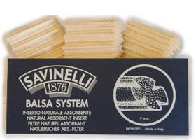 Фильтры для трубок Savinelli Balsa 10 шт