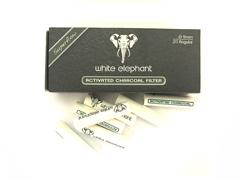 Фильтры для трубок White Elephant Уголные 20 шт. 9 мм