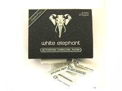 Фильтры для трубок White Elephant Уголные 40 шт. 9 мм