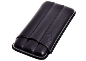 Футляр Jemar на 3 сигары BEIKE Black 110-3-XL