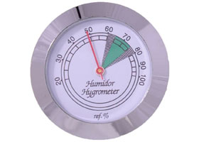 Гигрометр Аналоговый Silver 605s 43 мм