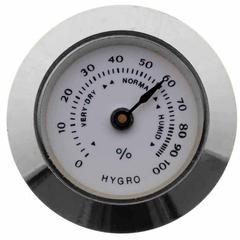 Гигрометр механический 30 мм  Серебро  603s