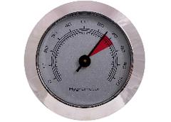 Гигрометр механический 49 мм, серебро 606