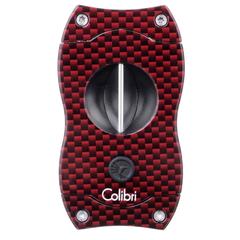 Гильотина Colibri V-cut, красный карбон CU300T22