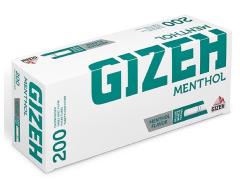 Гильзы для самокруток Gizeh Menthol 200 шт
