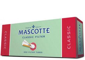Гильзы для самокруток Mascotte Classic 200 шт