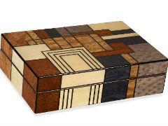 Хьюмидор Art Deco Patches на 40 сигар