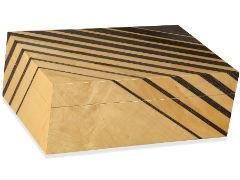 Хьюмидор Art Deco Striped на 50 сигар