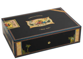 Хьюмидор Elie Bleu Alba Black 110 сигар