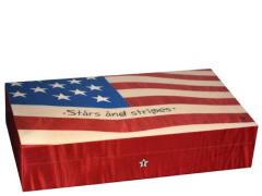 Хьюмидор Elie Bleu Flag USA No. 47 на 110 сигар