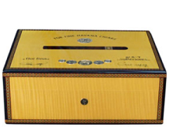 Хьюмидор Elie Bleu Medals Gold Yellow Sycamore на 75 сигар