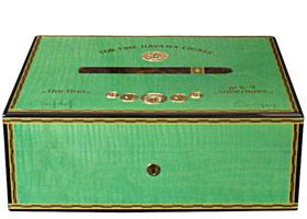 Хьюмидор Elie Bleu Medals Green Pistachio Sycamore на 75 сигар
