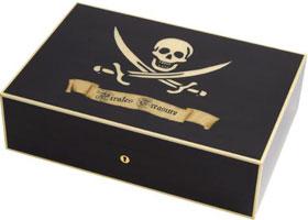 Хьюмидор Elie Bleu Pirate Black на 110 сигар