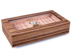 Хьюмидор Lubinski на 40 сигар со стеклом Q2794