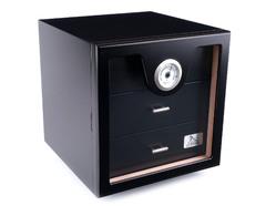 Хьюмидор-шкаф Lubinski на 100 сигар, Черный лак Q216