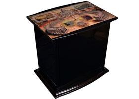 Хьюмидор-шкаф Mastro de Paja на 50 сигар S22-Nero Рим
