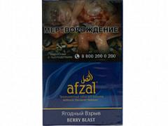 Кальянный табак AFZAL - BERRY BLAST - 40GR