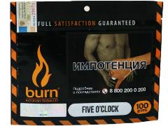 Кальянный табак Burn Five O'clock 100 gr