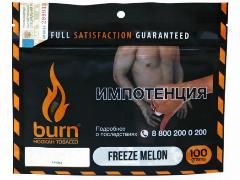 Кальянный табак Burn Freeze Melon 100 gr